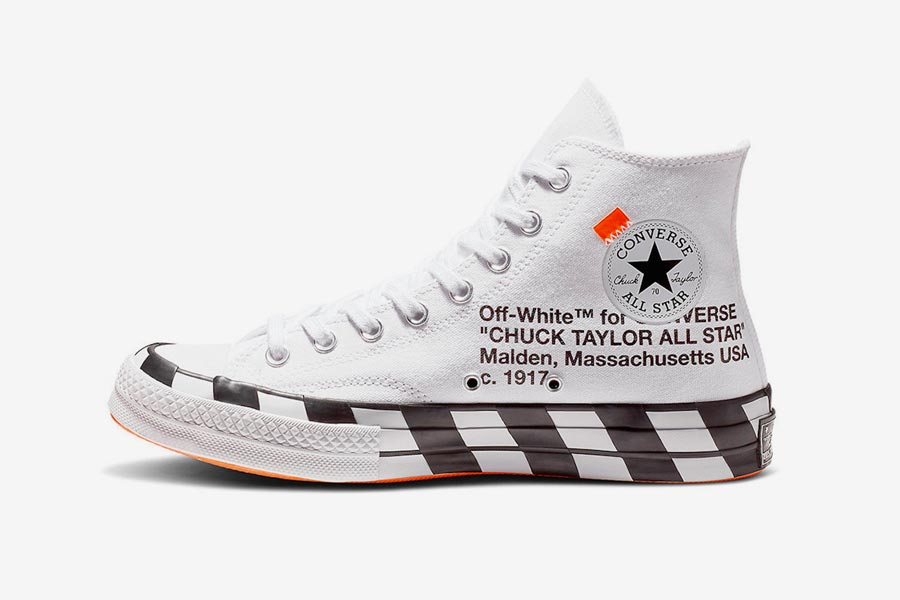 Off-White x Converse Chuck 70 Stripe White