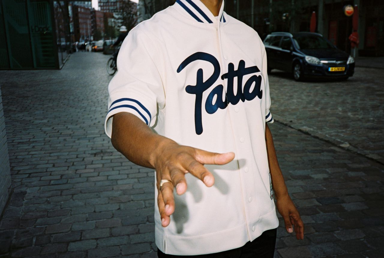 new arrival ef9b6 620e8 Patta x Mitchell  Ness Collection Automne 2018 - Le Site de