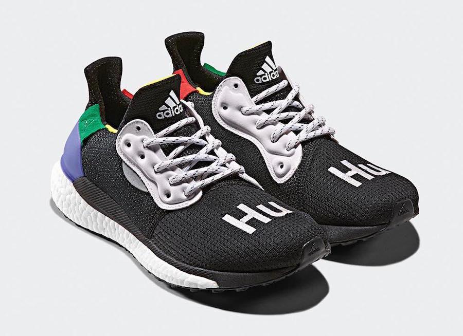 Pharrell x adidas Solar HU Glide Collection