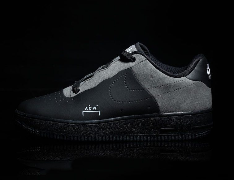 945d268600a Preview  A Cold Wall  x Nike Air Force 1 Black - Le Site .