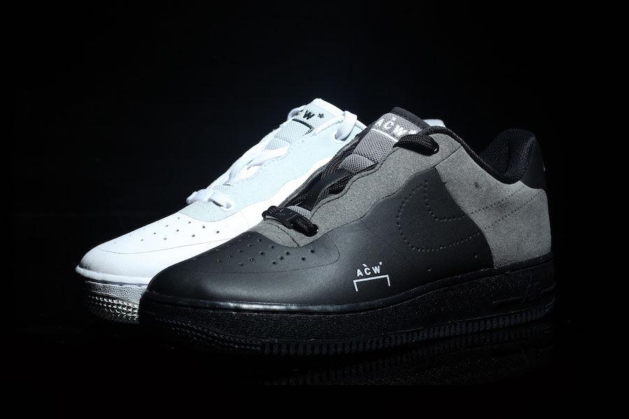 Preview  A Cold Wall  x Nike Air Force 1 Black - Le Site de la Sneaker 07eae992e