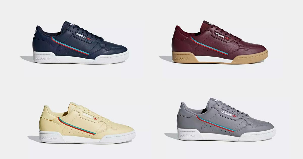 adidas Continental 80 Collection Automne 2018