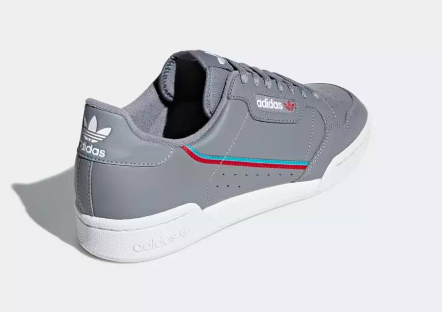 adidas continental 80 gris