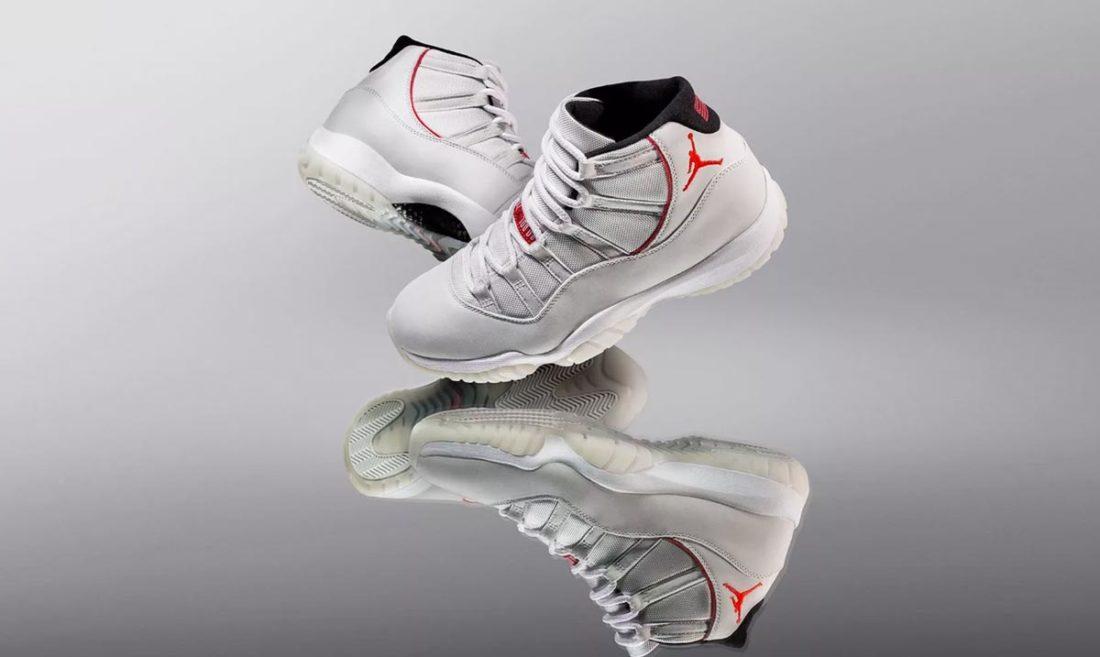 a1d038f38308 Air Jordan 11 Platinum Tint - Le Site de la Sneaker