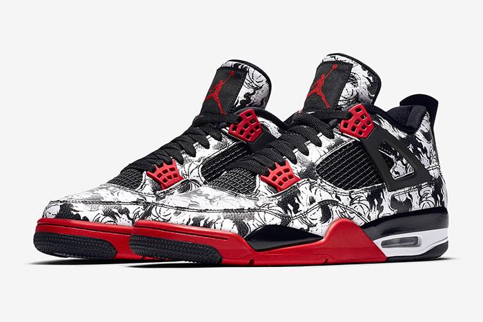 Air Jordan 4 Tattoo