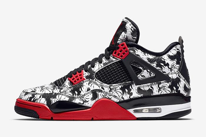 La Sneaker 4 De Air Site Jordan Le Tattoo cSRj4L35Aq
