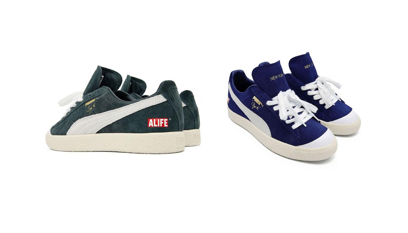 8a08f047766dbc ALIFE x Puma Clyde New York Pack - Le Site de la Sneaker
