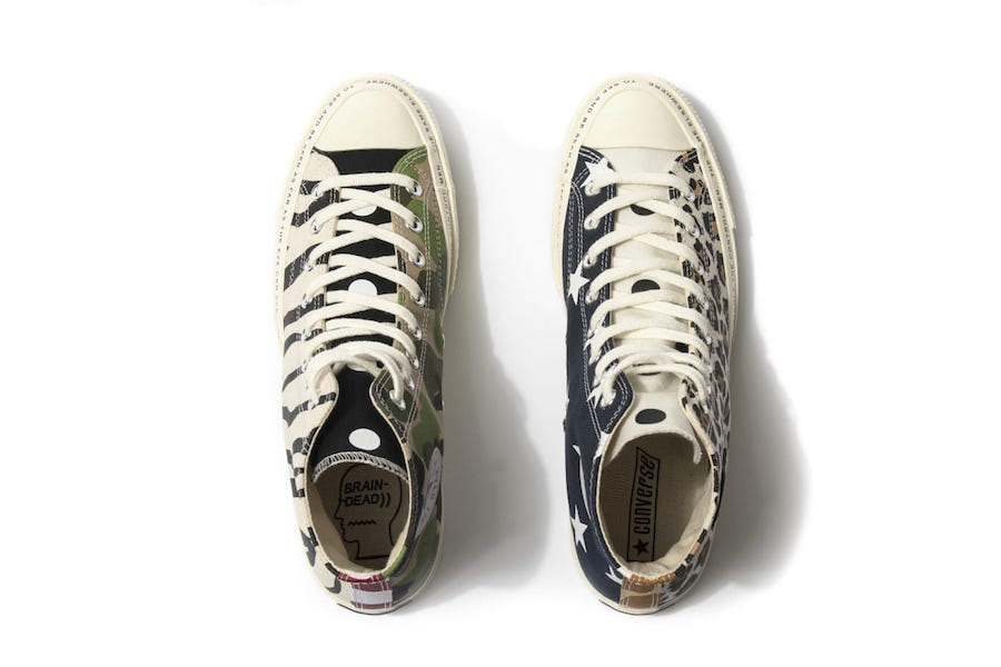 Brain Dead x Converse Collection Le Site de la Sneaker