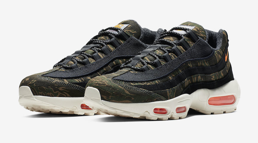 on feet shots of pretty cool outlet boutique Carhartt WIP x Nike Air Max 95