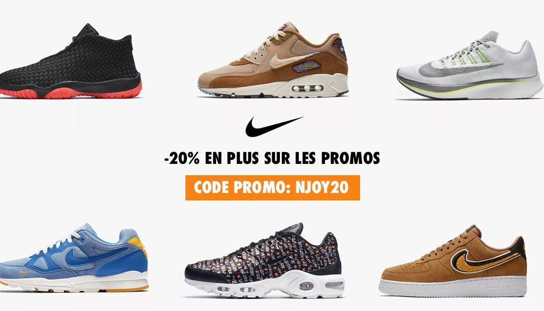 purchase cheap 8d214 94ce7 Code promo Nike  -20% supplémentaire !