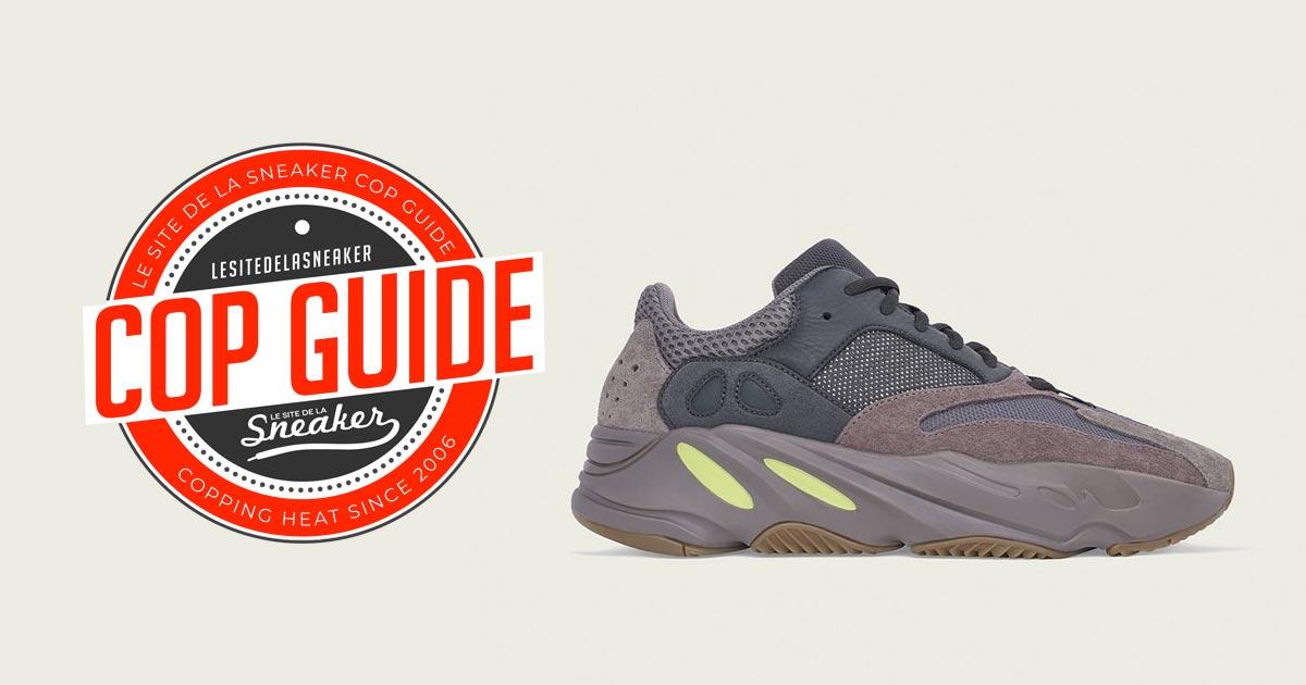 700 Mauve Sneaker De Adidas Site Yeezy La Le Comment Cop pwOqxZZF