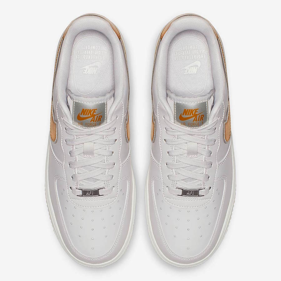 5e90b85aa1f Nike Air Force 1 Low Metallic Swoosh Pack - Le Site de la Sneaker