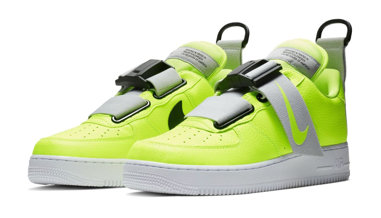 air force one femme jaune fluo