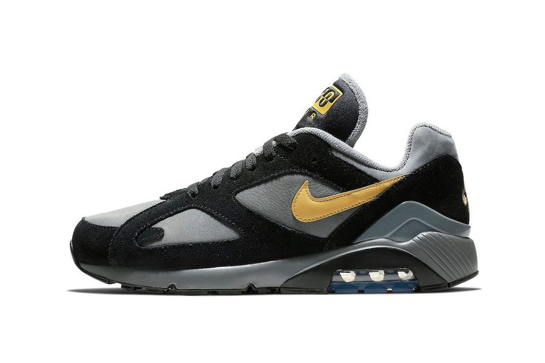 Nike Air Max 180 Grey Black Gold