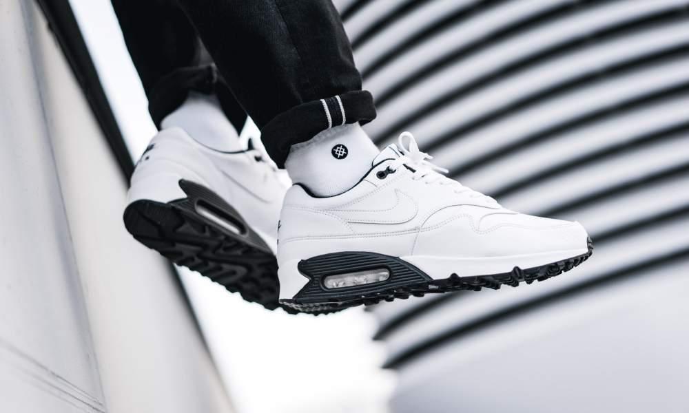 air max leather 90 noir et blanc
