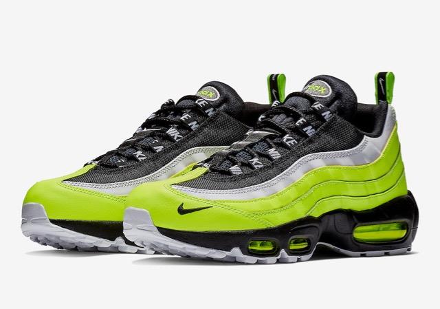 Preview: Nike Air Max 95 Volt Glow - Le Site de la Sneaker