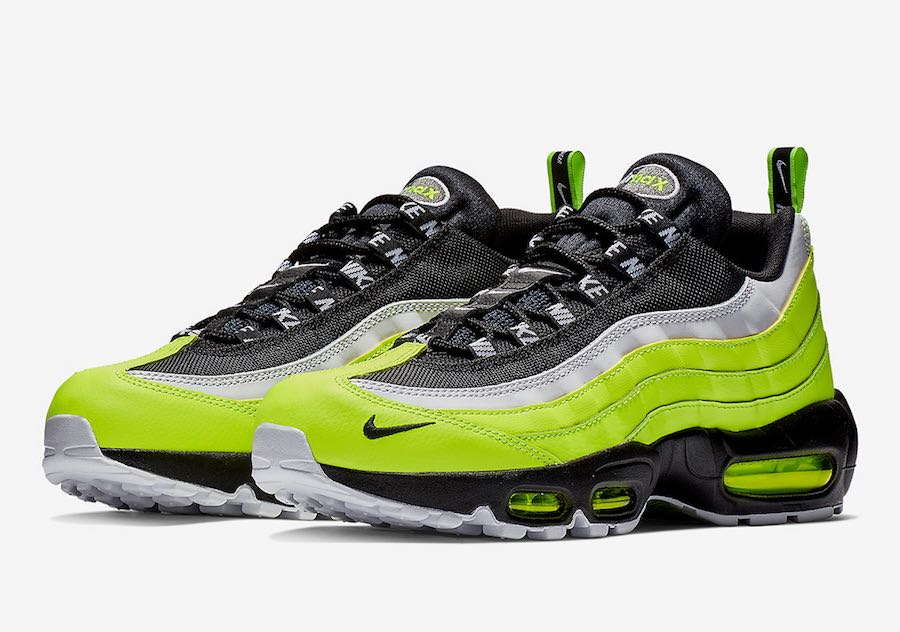 brand new 666db 15210 Preview  Nike Air Max 95 Volt Glow