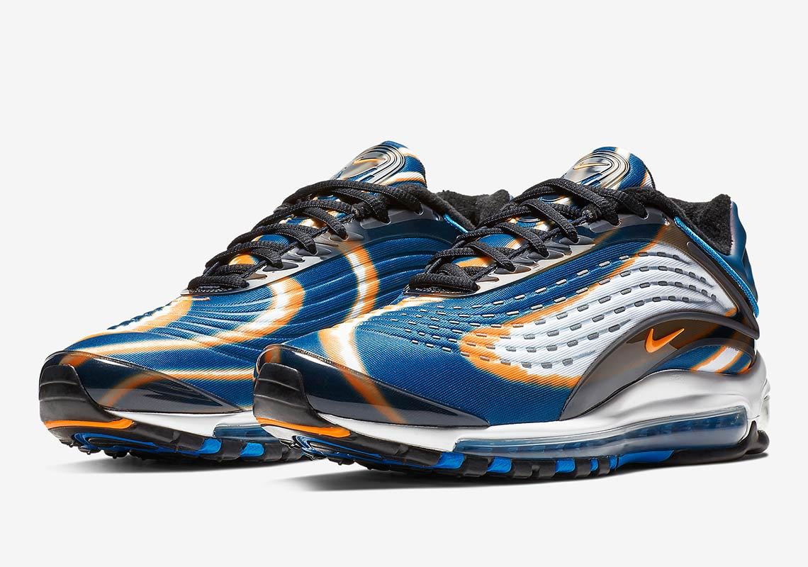 nike air max deluxe orange blue le site de la sneaker. Black Bedroom Furniture Sets. Home Design Ideas