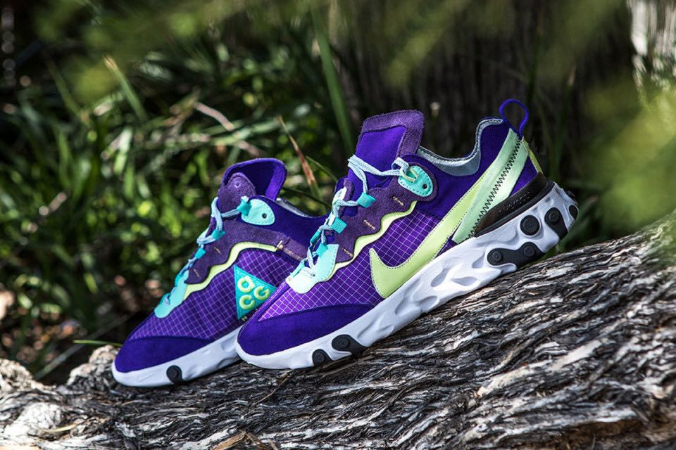 Nike React Element 87 ACG Custom Le Site de la Sneaker