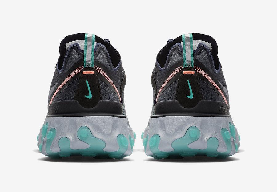 36eddb1971dc Nike React Element 87 Neptune Green - Le Site de la Sneaker