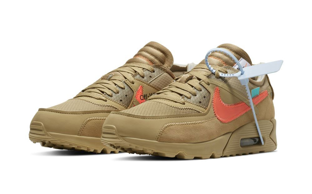 Off White x Nike Air Max 90 Desert Ore | AA7293 200 | The
