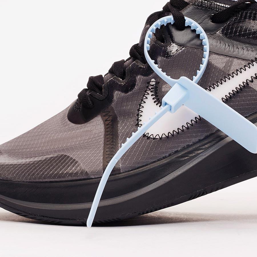 8af01583c443 Off-White x Nike Zoom Fly SP Black - Le Site de la Sneaker
