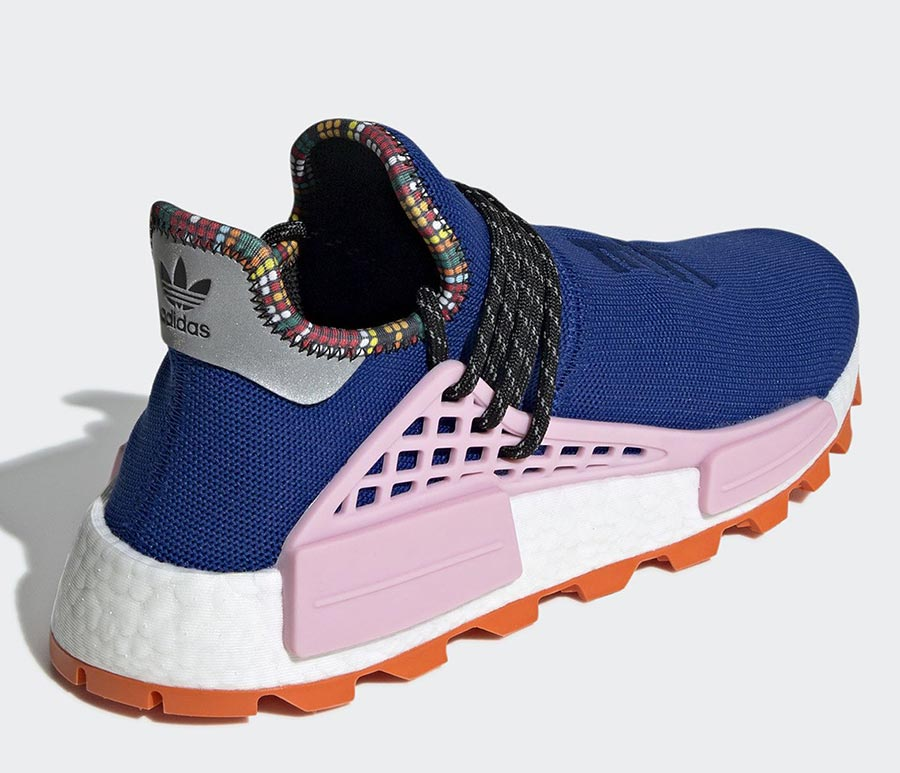 adidas nmd bleu et orange