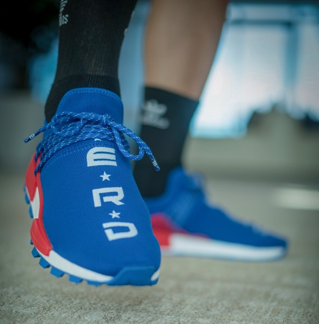 acheter Adidas basket original NMD Hu Trail NERD Noir