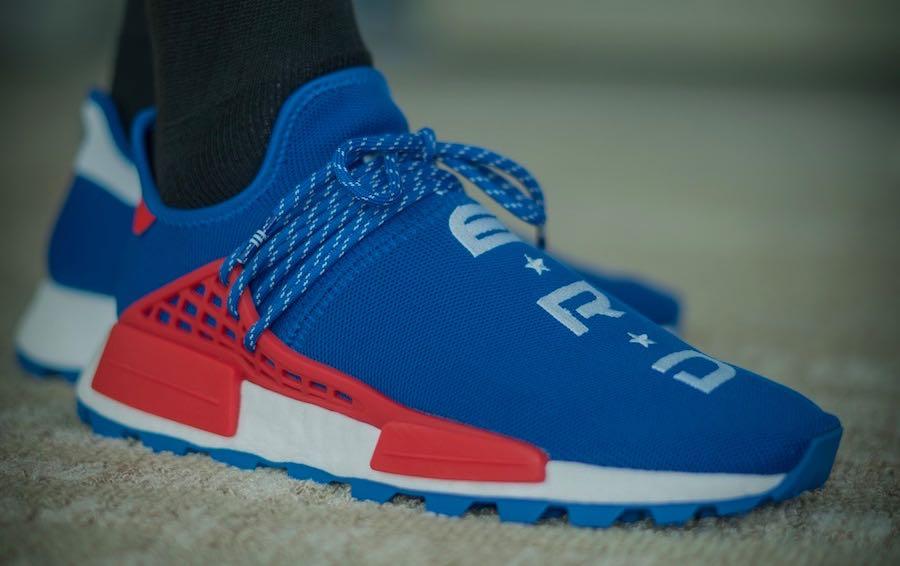 Release Date: Pharrell x adidas NMD Hu NERD Blue