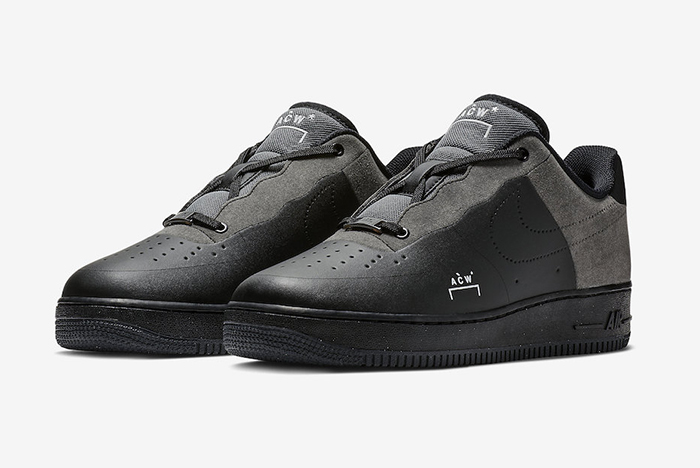 A COLD WALL* x Nike Air Force 1 Low Black