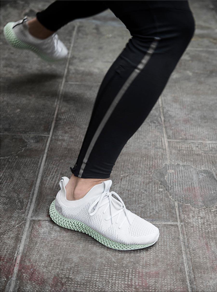 6bba05a285089 adidas AlphaEdge 4D White - Le Site de la Sneaker