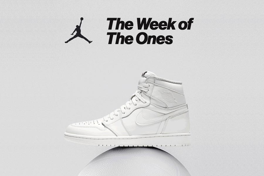 64027c777157 La Air Jordan 1 à l honneur avec The Week of The Ones - Le Site de ...