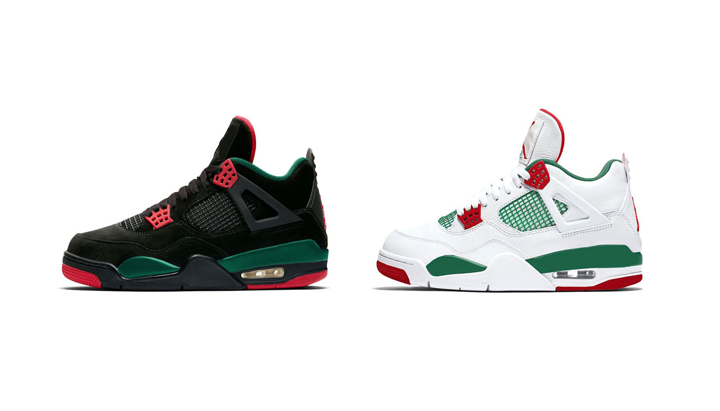 4907491539253 Deux Air Jordan 4 Gucci   Do The Right Thing en 2019 - Le Site de la Sneaker