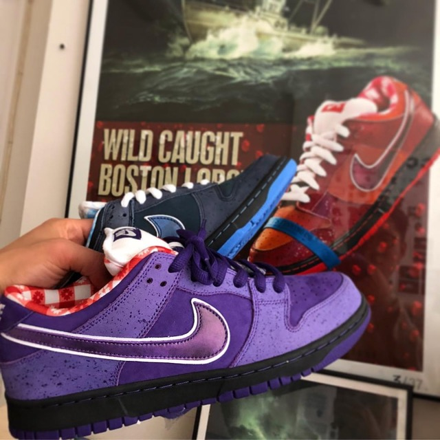 new arrival 08ab5 94768 ... where to buy concepts nike sb dunk low purple lobster 01 be27d 69dfa