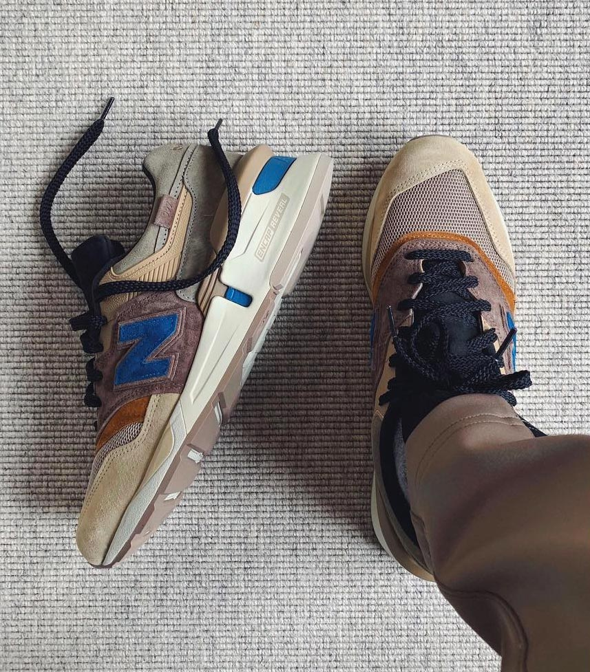 cheap for discount 0ae56 68acb KITH x New Balance 997 x nonnative x United Arrows - Le Site ...