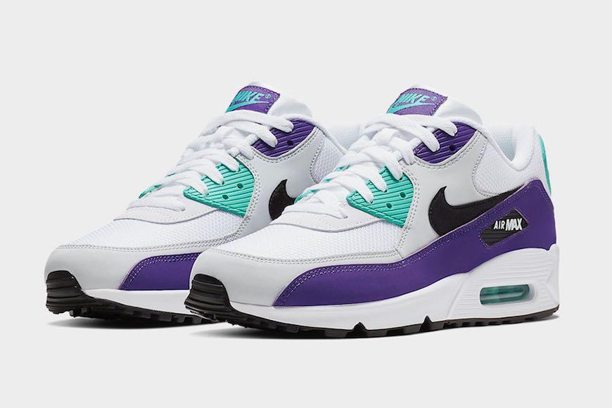 Preview: Nike Air Max 90 Essential Grape Le Site de la Sneaker