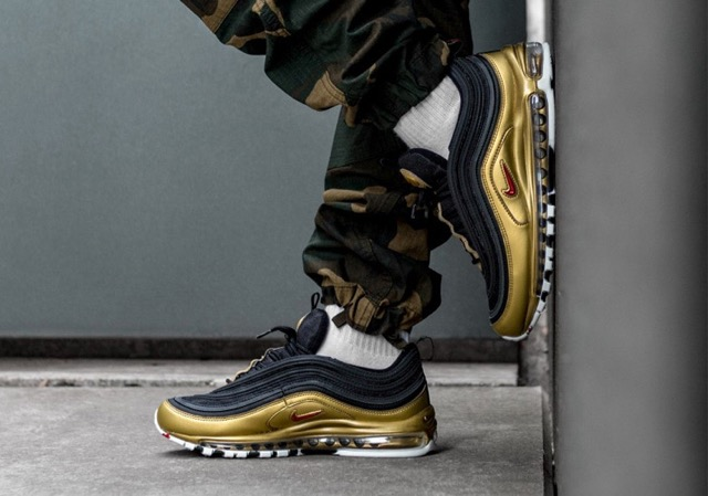 Nike Air Max 97 'B Sides Metallic Pack' QS (WhiteVarsity