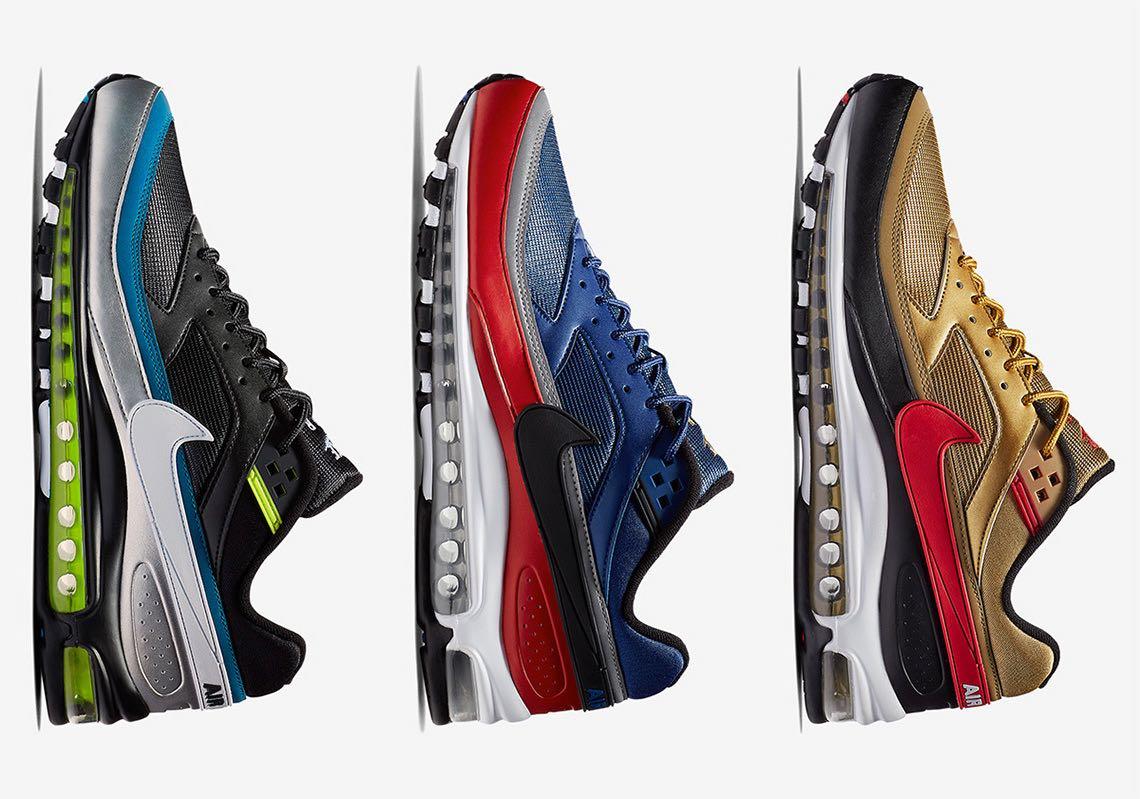 Nike Air Max 97/BW Metallic Pack