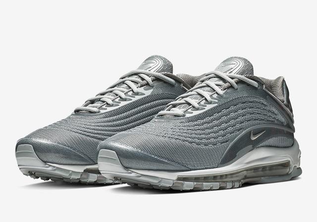 nouveau produit b0b88 bbbfb Nike Air Max Deluxe Metallic Silver
