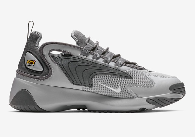 Nike Zoom 2K Grey & Triple Black Le Site de la Sneaker