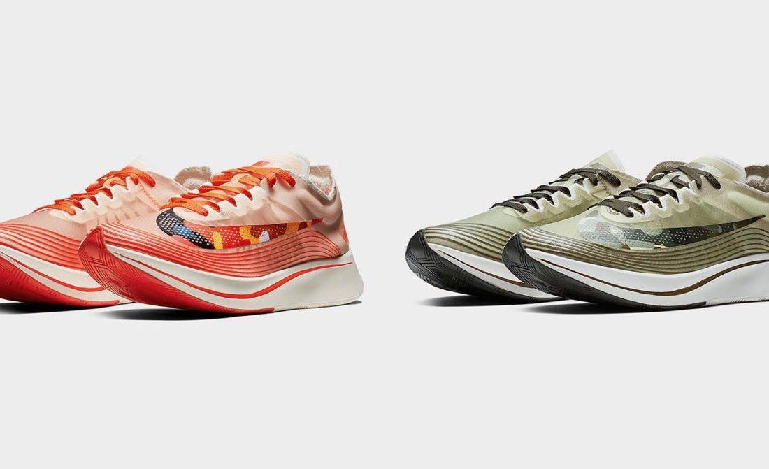 "65dd162b99cb Preview  Nike Zoom Fly ""Camo Swoosh"" Pack - Le Site de la Sneaker"