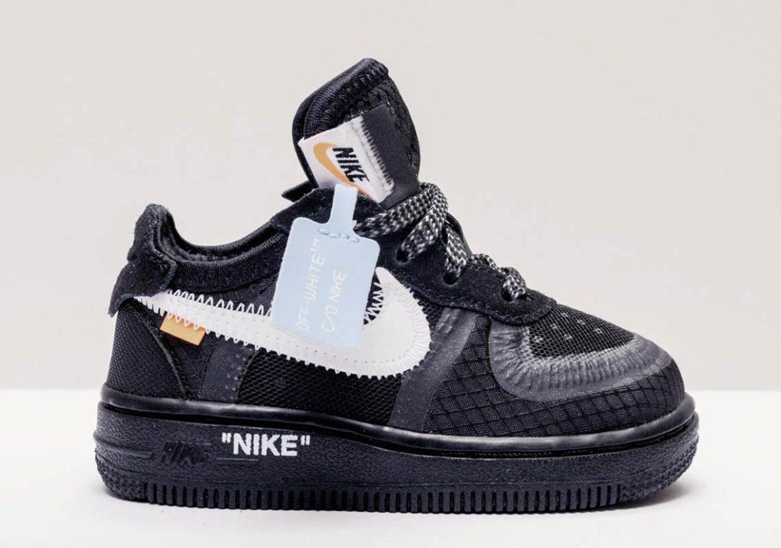 Air Force 1 Low Off White Black en 2020 | Chaussures vans