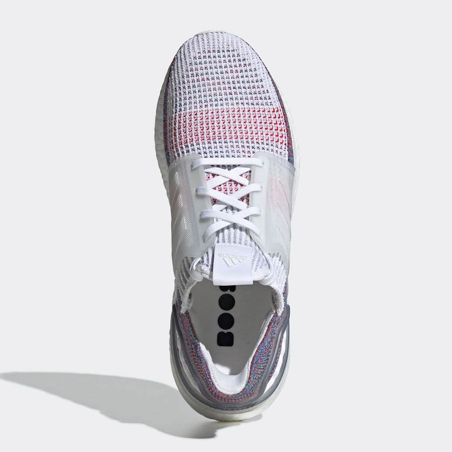 Preview: adidas UltraBoost 19 White Multicolor Le Site de
