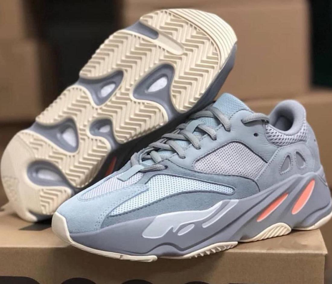 competitive price af82b a5630 Une adidas Yeezy Boost 700 Inertia au printemps 2019 - Le ...