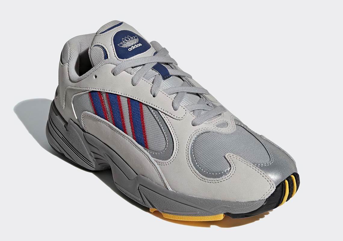 Cesta Rápido Árbol  Preview: adidas Yung-1 Grey Blue - Le Site de la Sneaker