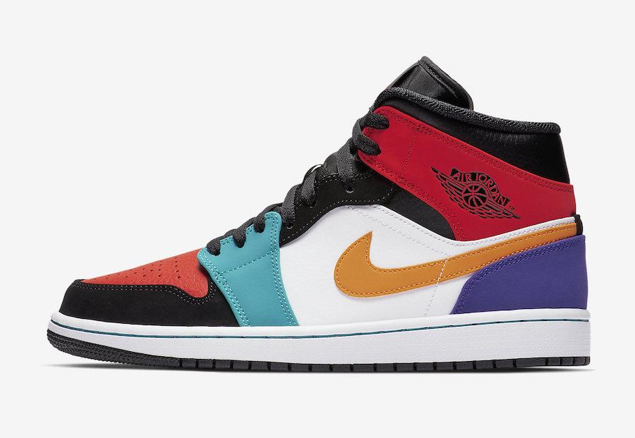 Air Jordan 1 Mid Multicolor Le Site de la Sneaker