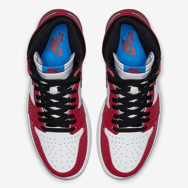 Air Jordan 1 Retro High OG Origin Story x Spider Man