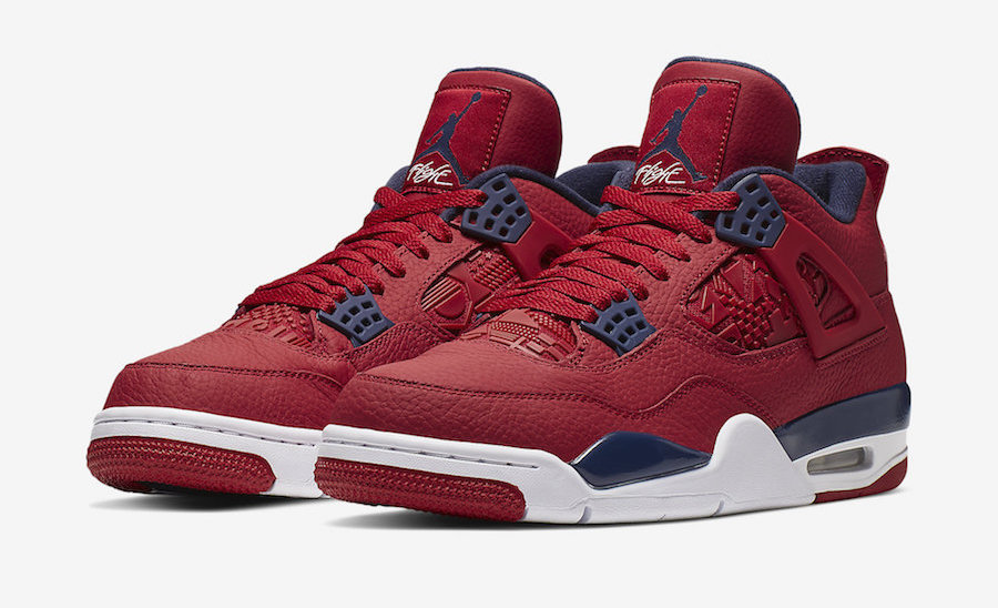 air jordan 4 retro noir rouge