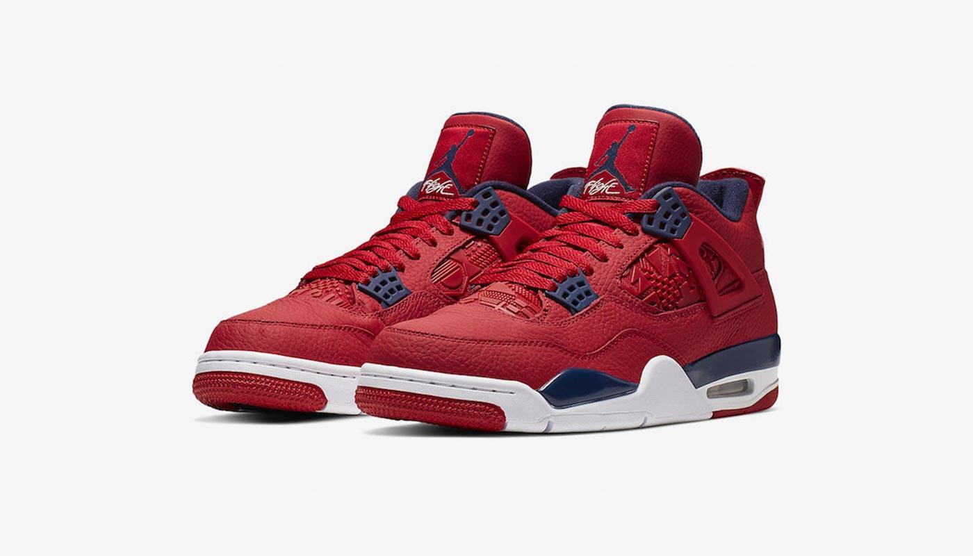 pas cher pour réduction d83a1 c7126 Air Jordan 4 SE FIBA Gym Red
