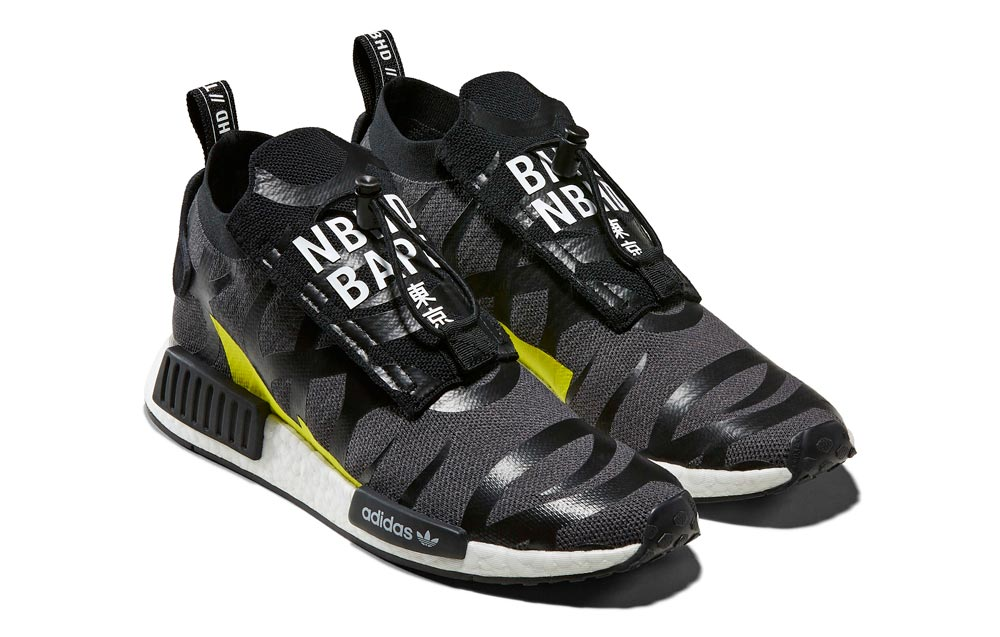 BAPE x NEIGHBORHOOD x adidas Originals 'NHBAPE NMD STLT'